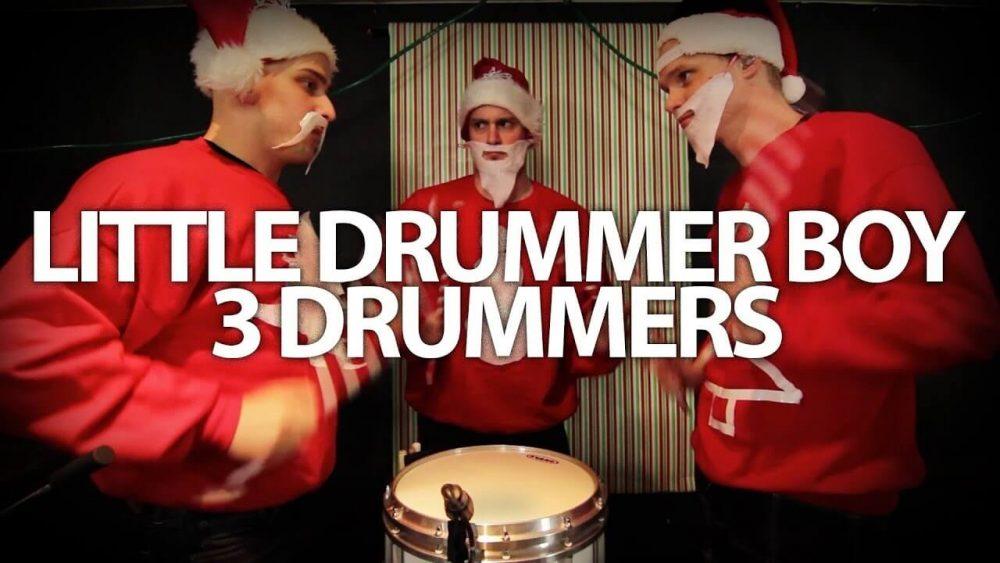Pentatonix – Little Drummer Boy – 3 Drummers